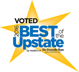 Voted Best of Upstate logo
