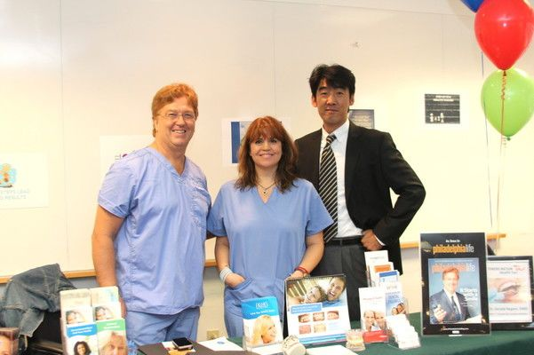 Dr. Regni and staff