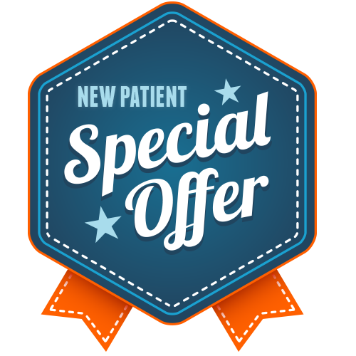 $89 - New patient Exam and 2 X-rays