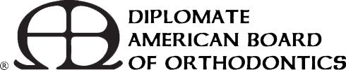 Diplomate American Board of Orthodontics logo