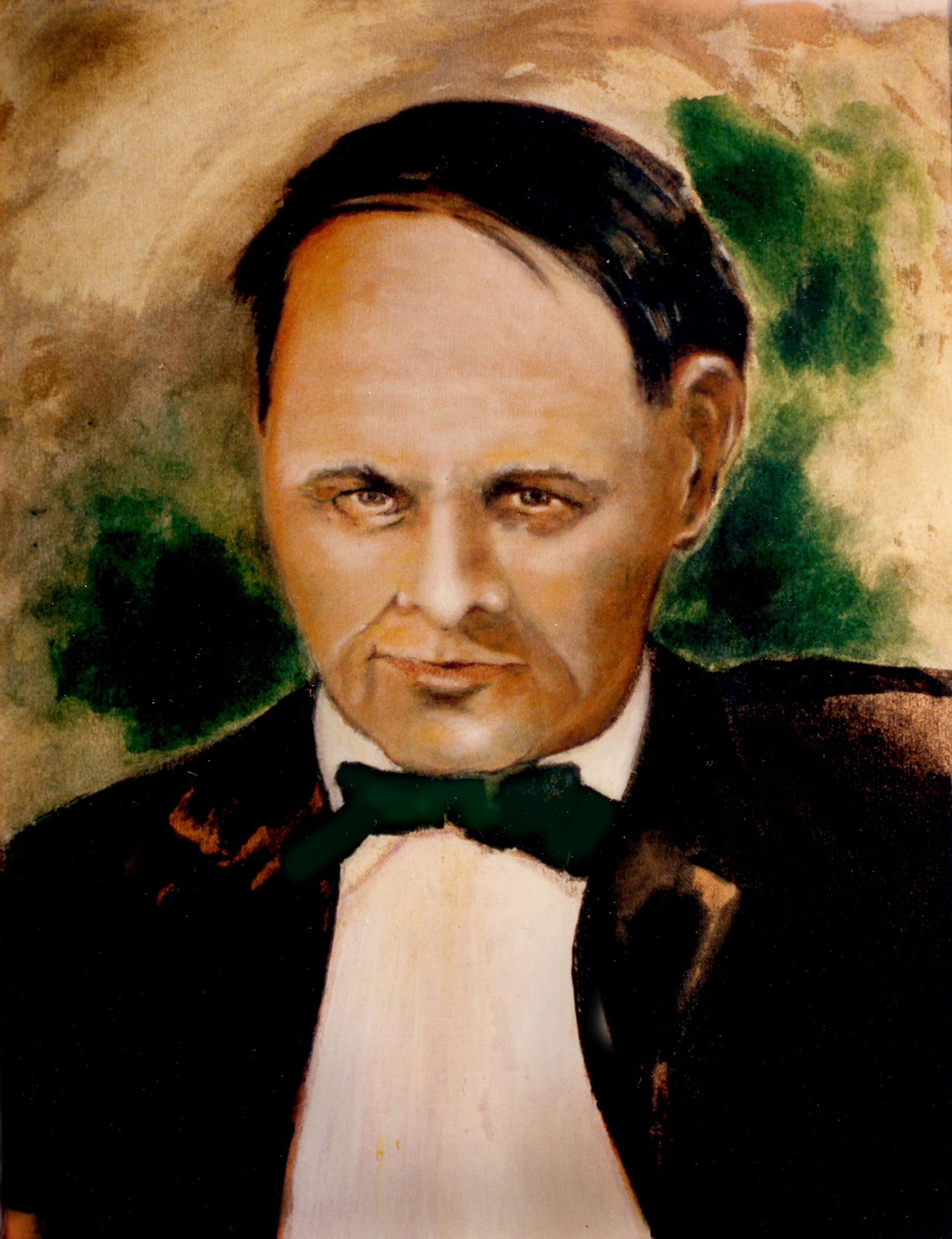 Portrait of Clarence Darrow. Young.