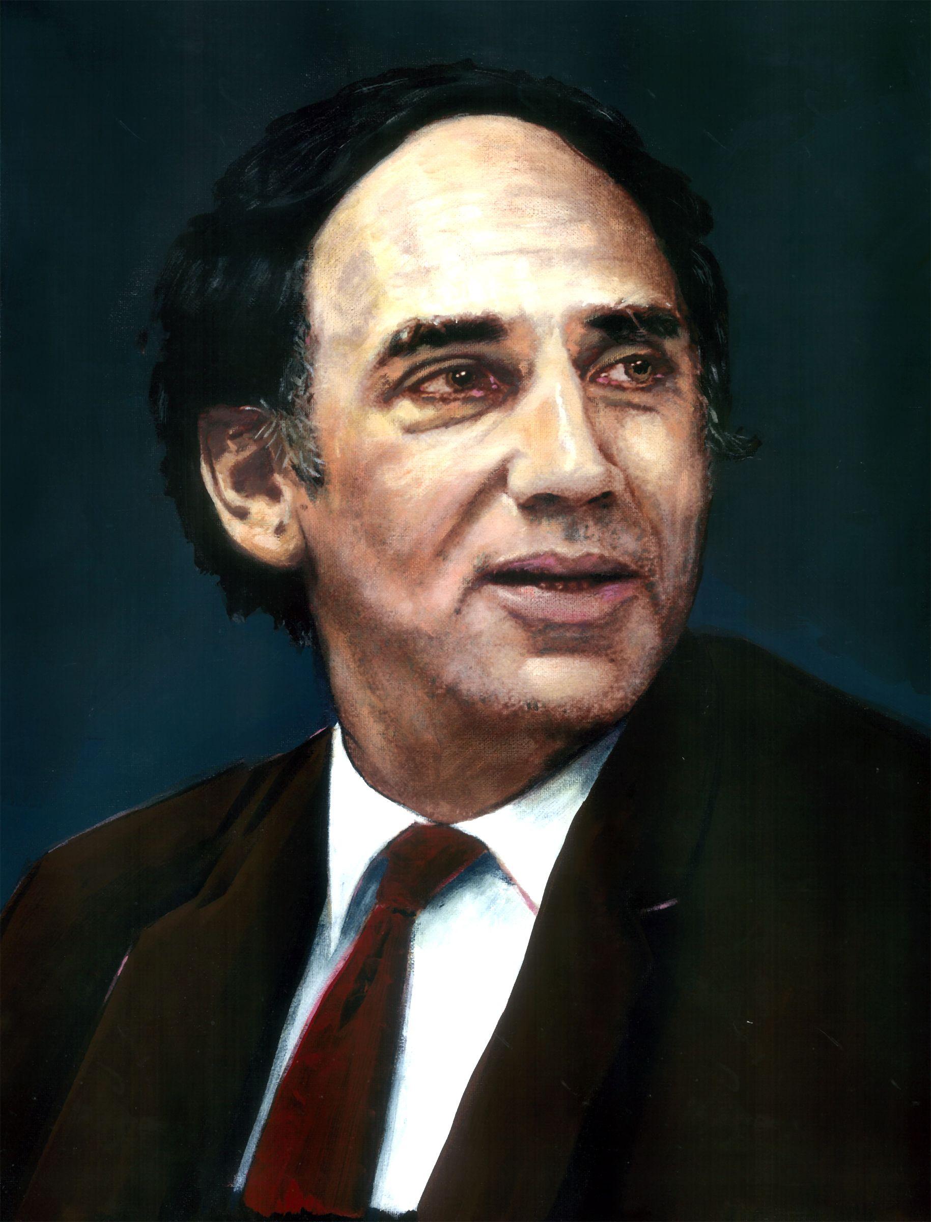 Portrait of William Kunstler.