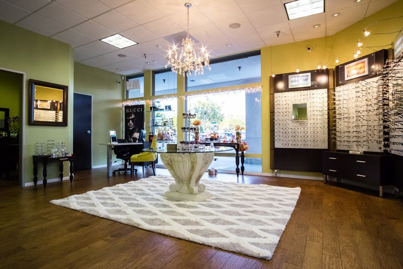 Winks Eye Designs & Optometry's office