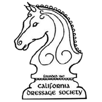 California Dressage Society logo