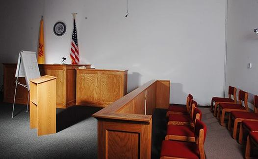 A full shot demonstrating the mock trial setup for TrialMetrix