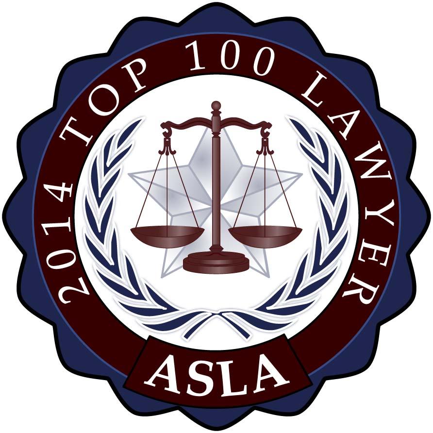 2014 Top 100 Lawyer, ASLA