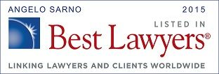 Angelo Sarno recognized by Best Lawyers 2015