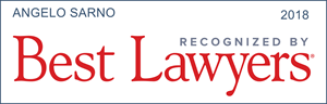 Angelo Sarno recognized by Best Lawyers 2018