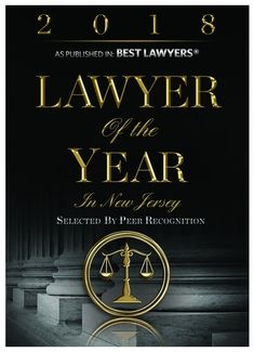 Lawyer of the Year in New Jersey, as Published in Best Lawyers
