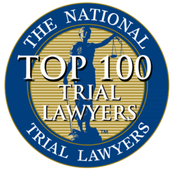 The National Trial Lawyers Top 100 Trial Lawyers Logo