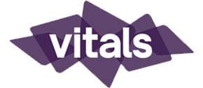 Vitals marketing logo.