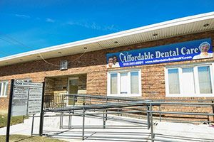 Exterior of dental office