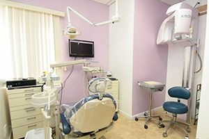 Dental office treatment room