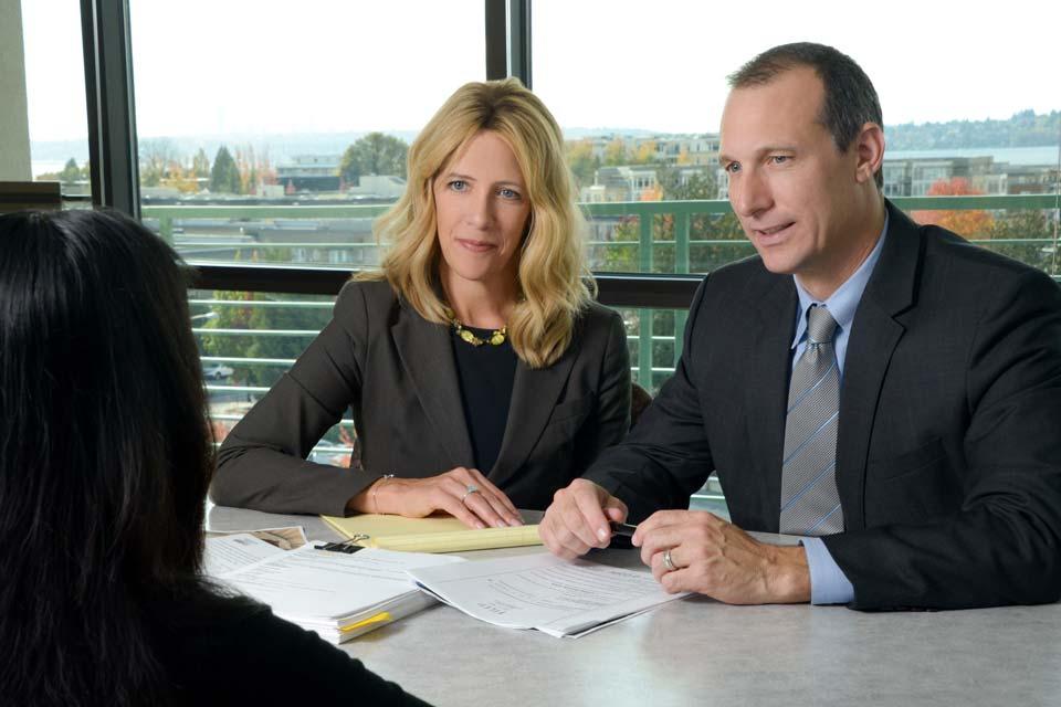 Attorneys Matthew Quick and Elizabeth Quick