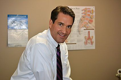 Mark Williams, owner and chiropractor at The Texas Injury Clinic.