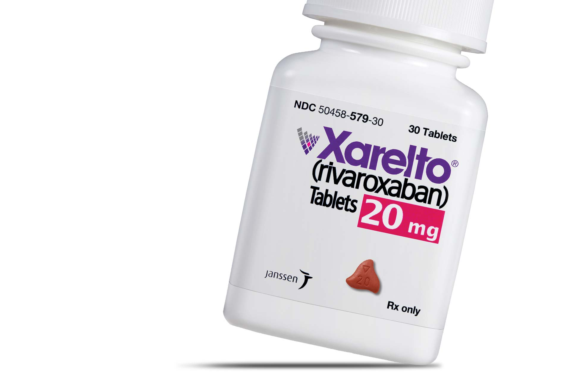 A Xarelto bottle