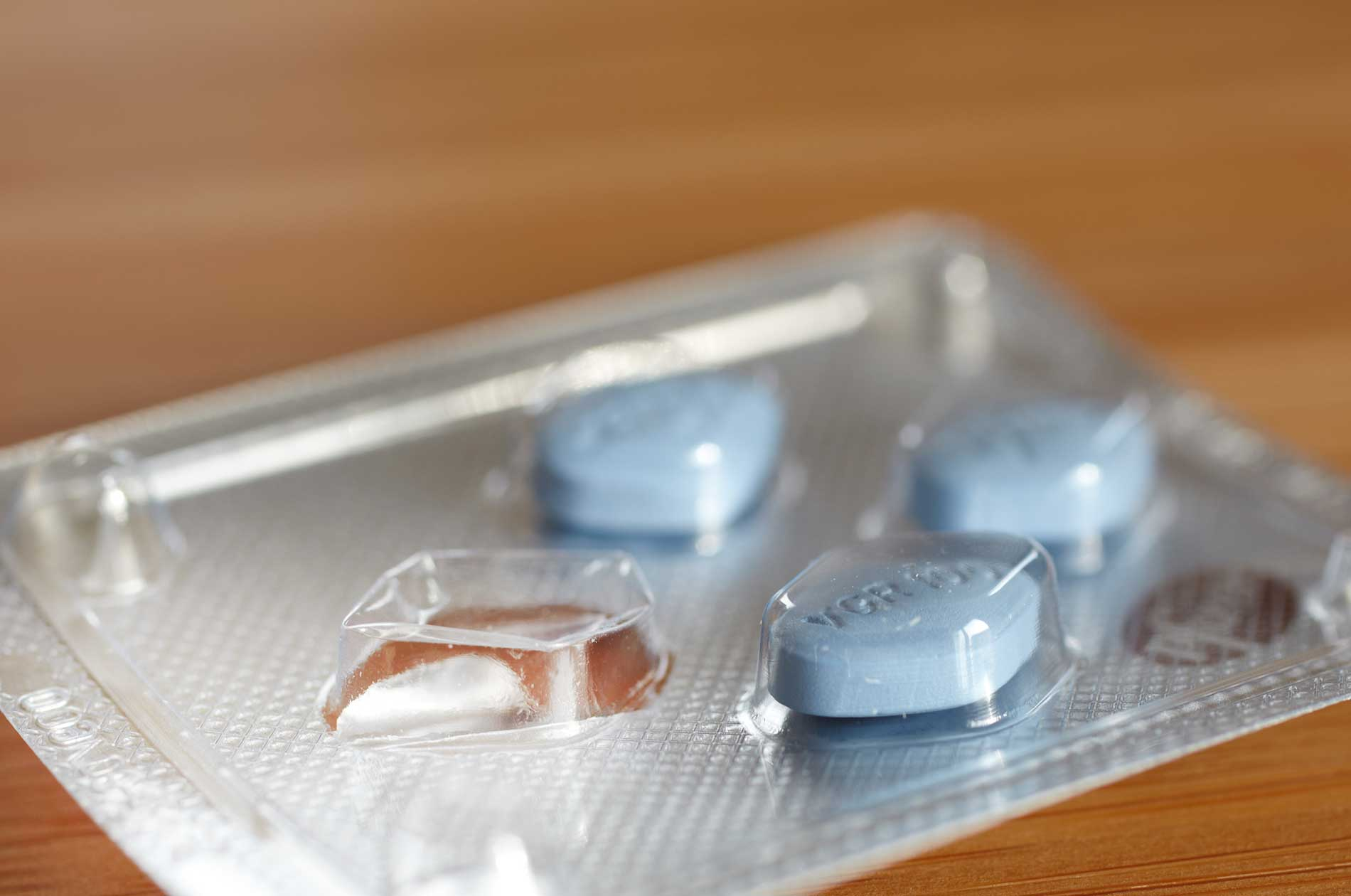 Viagra® pills in packaging