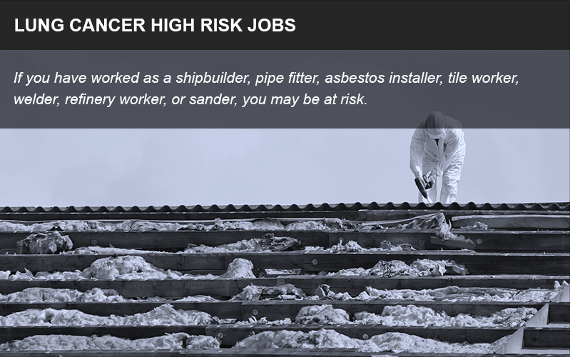 High-risk jobs for asbestos exposure