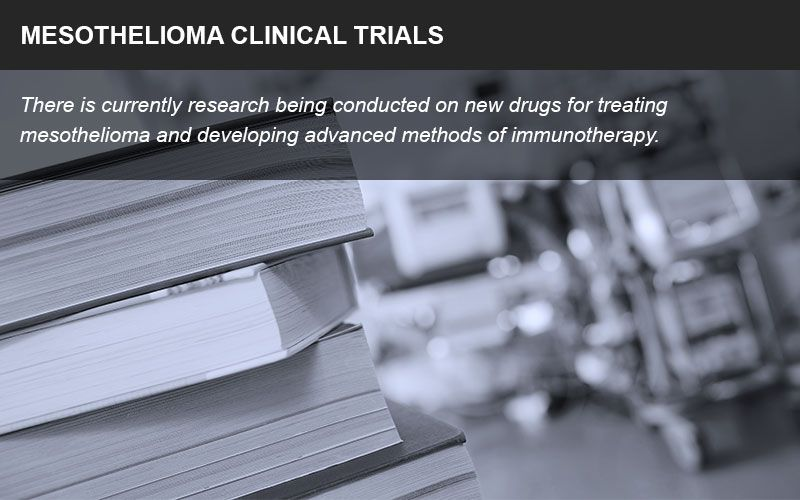 Mesothelioma clinical trials info