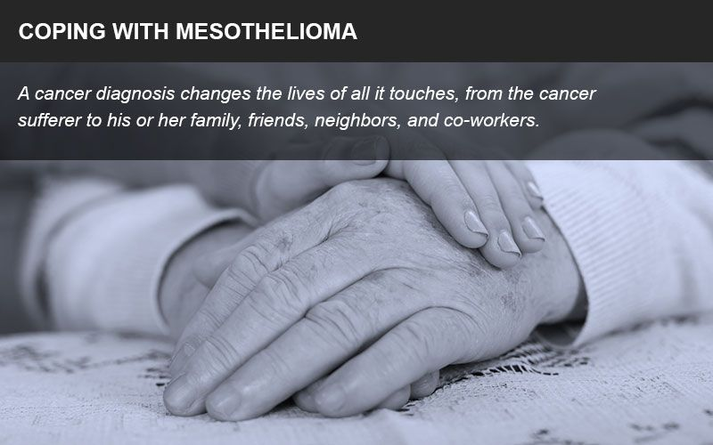 coping with mesothelioma