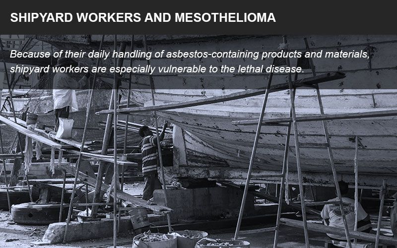 Shipyard workers and asbestos