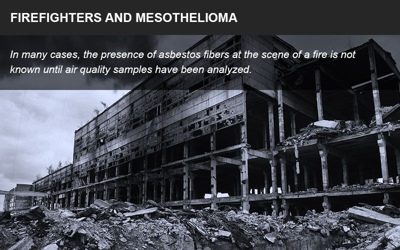 Firefighters and asbestos