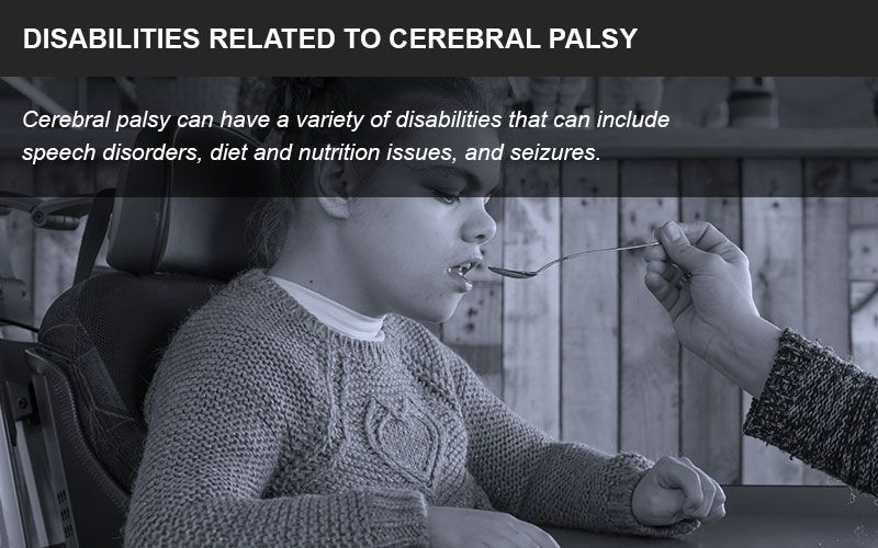 Disorders related to cerebral palsy