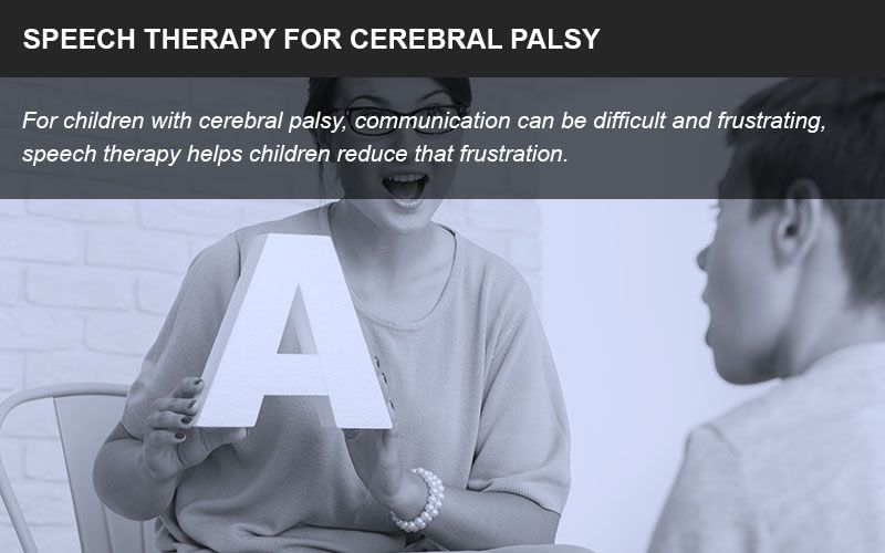 Cerebral palsy speech therapy