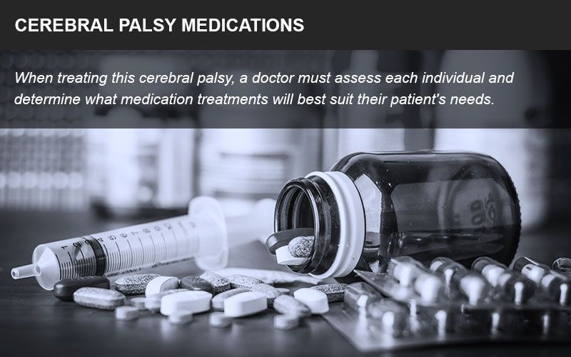 Medications for cerebral palsy
