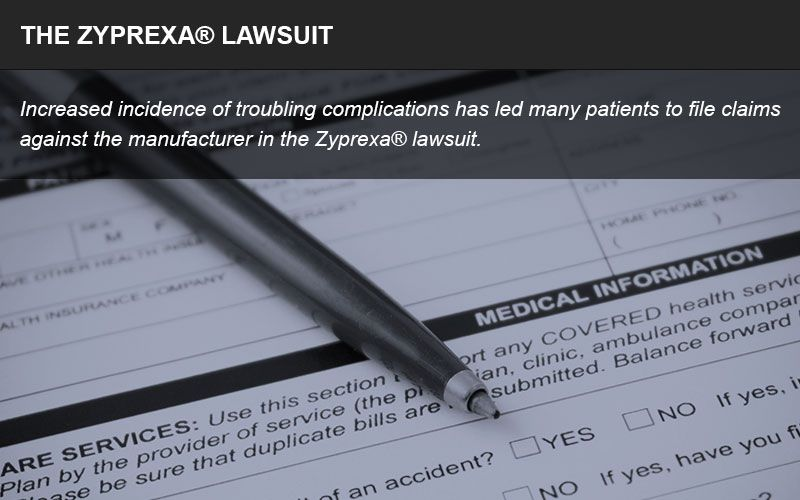 Zyprexa lawsuit infographic