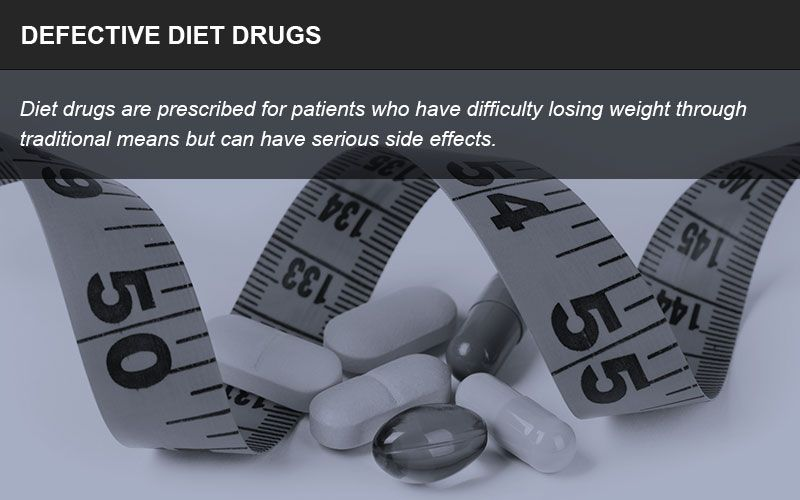 Defective diet drugs
