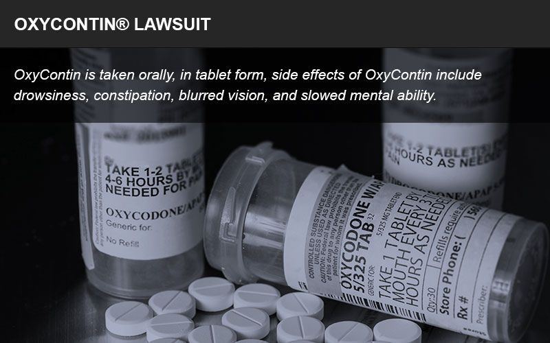 Oxycontin lawsuit infographic