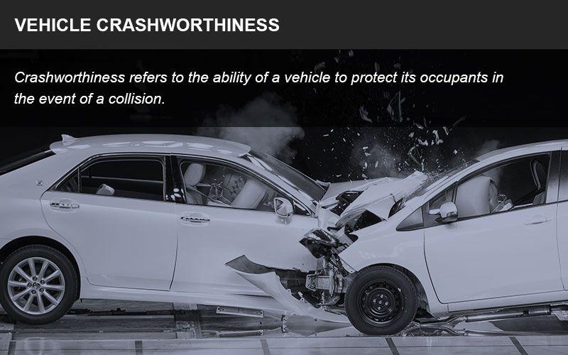 Crashworthiness infographic