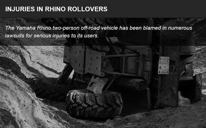 Yamaha Rhino injuries infographic