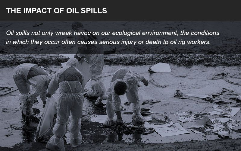 Oil spills litigation infographic