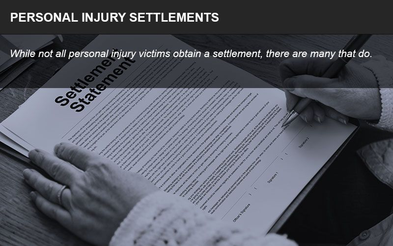 Personal injury settlements can be among the most valuable