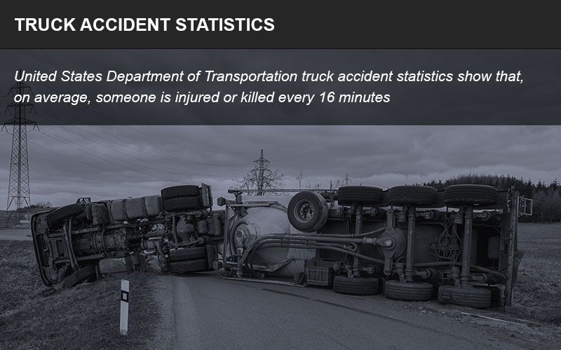 Trucking accident statistics can show inherent dangers on the road