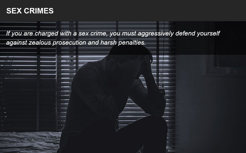Individuals who have been accused of a sex crime need an aggressive criminal defense attorney