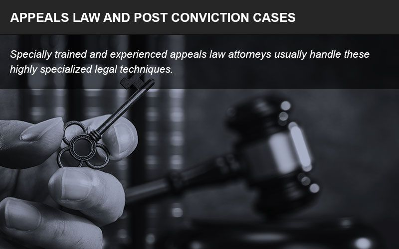 An appellate attorney may be able to help you overturn a conviction