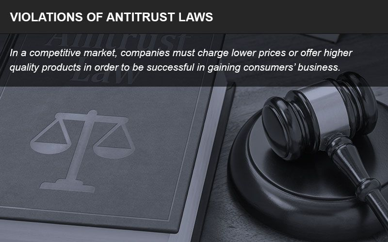 Competition protect against one entity controlling an entire market