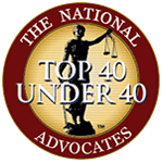 image of top 40 under 40 by the national advocates