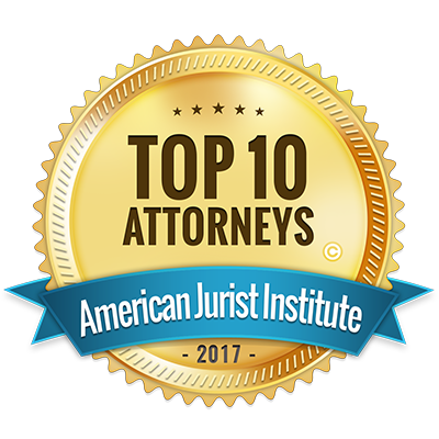 Top 10 Attorneys American Jurist Institute Logo
