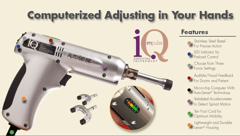 Photo of impulse adjusting instruments