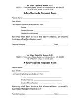 X-Ray Records Release Form