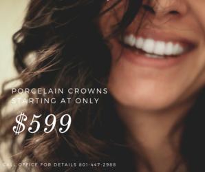 Porcelain crown coupon