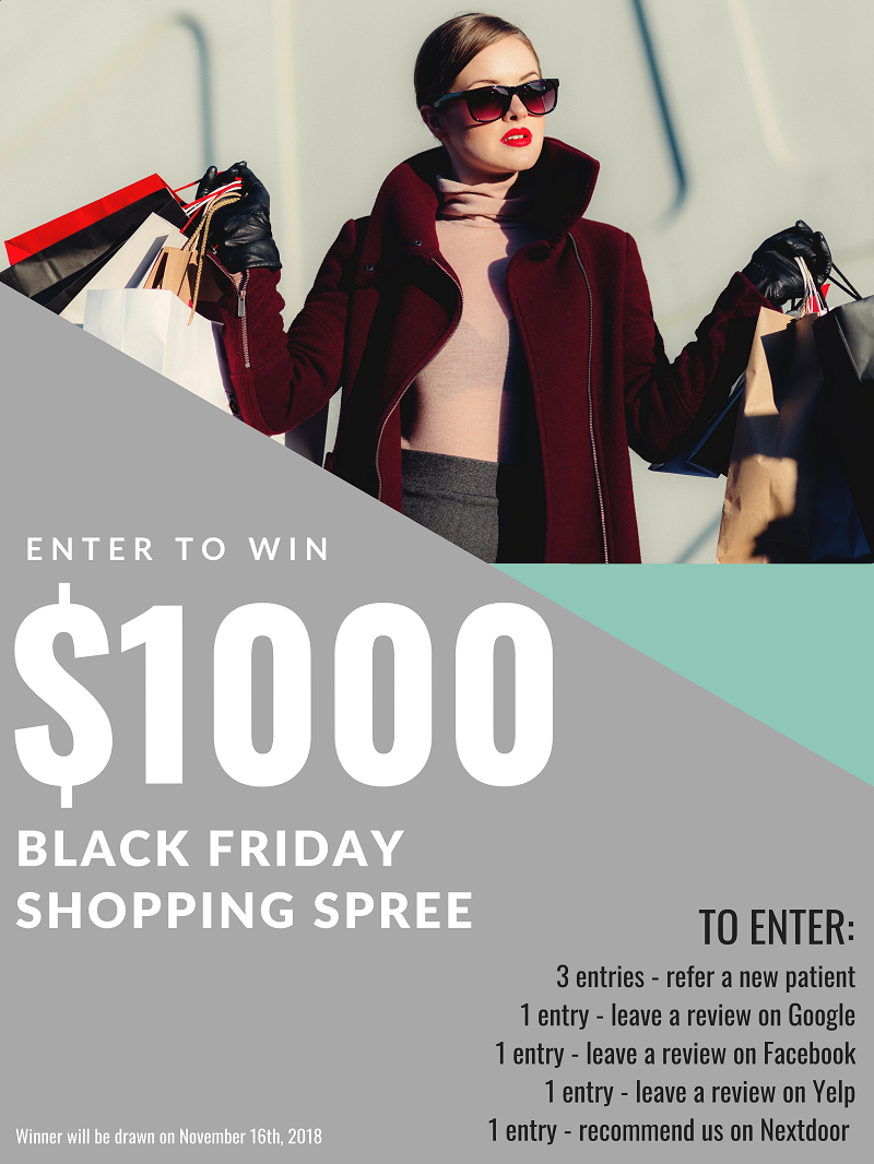 Black Friday Shopping Spree Giveaway