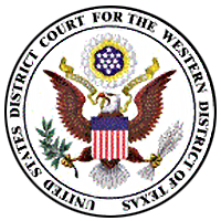 US District Court for the Western District of Texas logo
