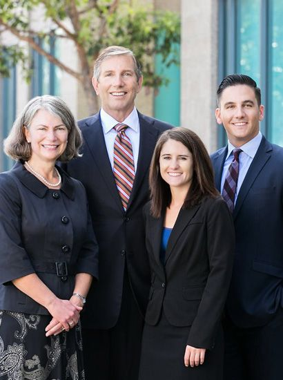 The legal team at Burke Law