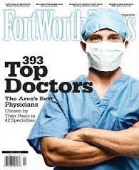 Top Doctors magazine cover