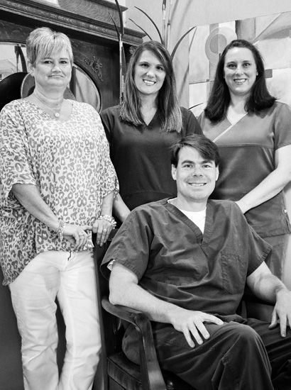 image of Dr. Herrington and his team